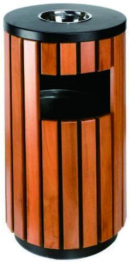 钢木果皮箱   (38×80cm)