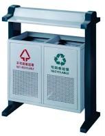 金属果皮箱(80×35×100cm)